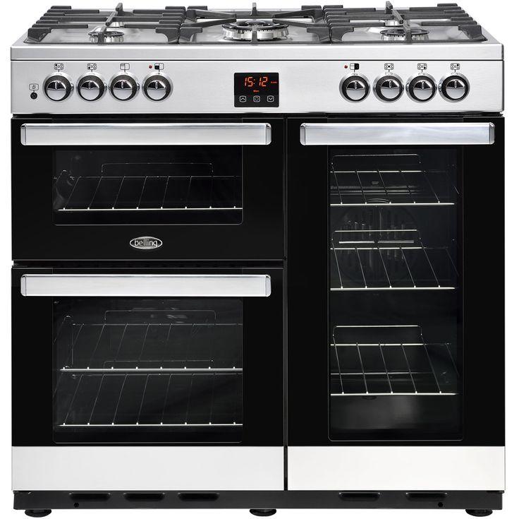 Cookcentre90DFT_SS | Belling range cooker | ao.com