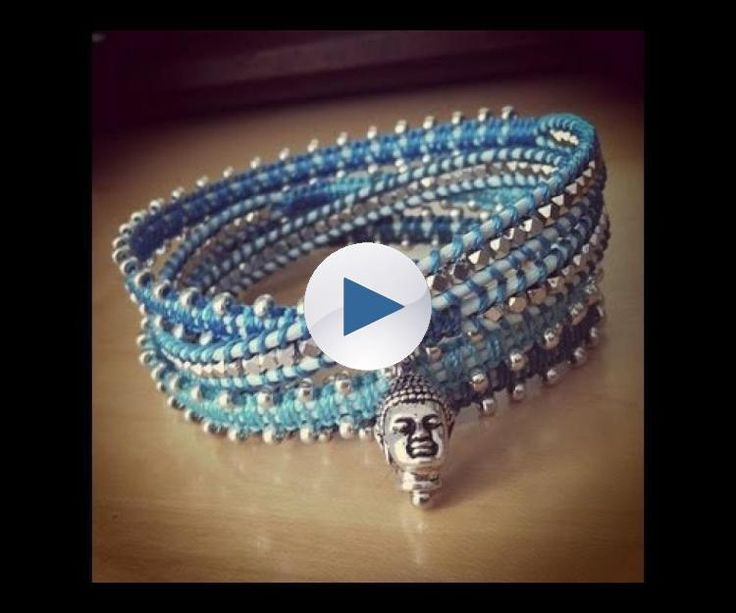 Tutorial, now i can make my own wrap bracelet!!!:) i loved my fiber arts class in college!!! -k