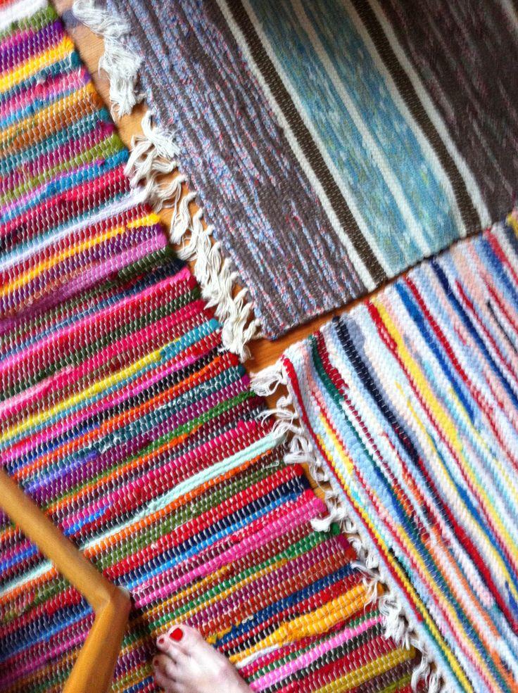 Trasmattor. Woven rugs