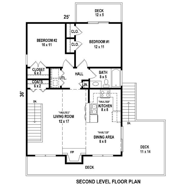 This Contemporary Design Floor Plan Is 868 Sq Ft And Has 2 Bedrooms And Has  Bathrooms.