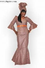 West African Women Clothing