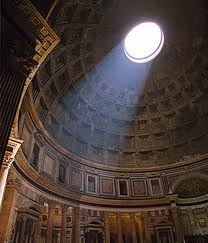 Pantheon. Inside  Rome, Italy. My favourite building in the whole world.
