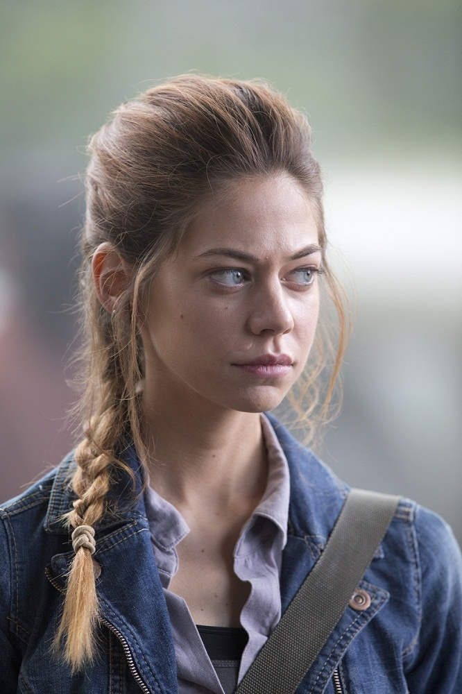Analeigh Tipton - so she was definitely on America's Next Top Model. Well now she's an actress! Which is cool, because I loved her.