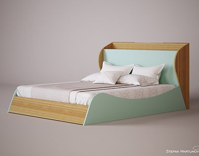 "Check out new work on my @Behance portfolio: ""Double bed"" http://be.net/gallery/45935445/Double-bed"