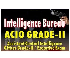 Intelligence Bureau (IB) Recruitment ACIO-II /EXE 2014 : Online applications are invited for direct recruitment to the post of Assistant Central Intelligence Officer, Grade-II/Executive, General Central Service, Group-'C' (Non-Gazetted/Non-Ministerial) in the Intelligence Bureau – IB, (Ministry of Home Affairs), Government of India. Applicants are advised to go through all parameters under different paras and sub-paras ...