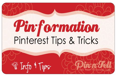 """All kinds of Pinterest information.  Nice little curated site!"""