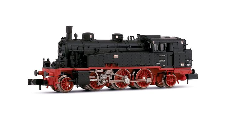 Light tank engine, class 75.4,10-11 of the DR
