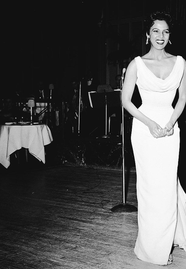 Dorothy Dandridge, 1955, Via http://hollywoodlady.tumblr.com/