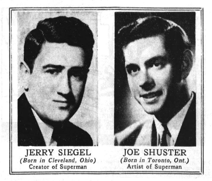 jerry siegel and joe shuster biography of albert