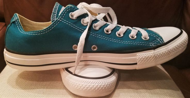 NEW Converse OX Chuck Taylor All Star Lo Top Green/Teal Men 9M Women 11M #Converse #CasualShoes