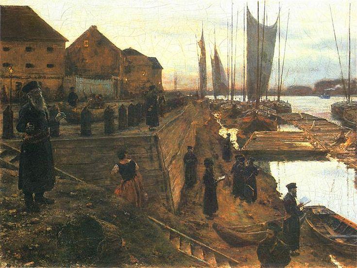 Aleksander Gierymski - Święto trąbek,  1890