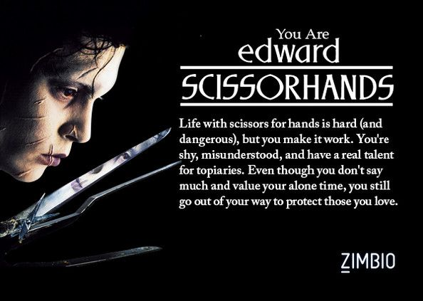 edward scissorhands essay quotes Tim burton cinematic techniques technique techniques robbie schwartz 3/12/13 english 1h tim burton uses many cinematic techniques in his movies such as lighting and camera angles throughout his movies in order to create effects and moods cinematic techniques he uses both lighting and camera angles in edward scissorhands.