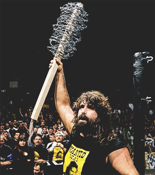 Mick Foley/ Cactus Jack Photograph | Photographer Unknown Follow Rhade-Zapan for more visual treats