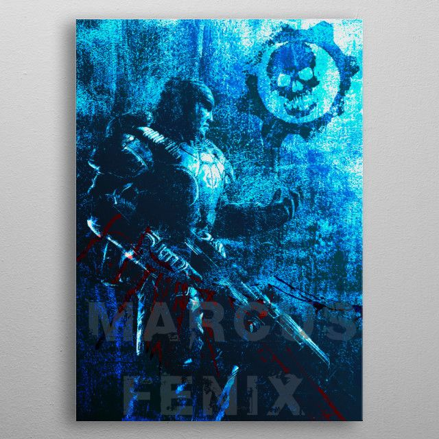 All Star Promo - Use code: ALLSTAR  Buy 3-4 get 15% OFF | 5+ 20% OFF. SOLD Marcus Fenix Gaming Poster. Many thanks to the buyer!! #gears  #marcusfenix #gamer #gaming #poster  #gifts  #deals #lancer #homedecor #homegifts #sales #save #discount #sale #deals #kids #family #home #geek #videogame #games #art #pinterest #posters #giftsforher #giftsforhim #shopping #online #displate #39 #style #giftideas #cool #awesome #campus #frat #geek #nerd #cool #awesome #gifts