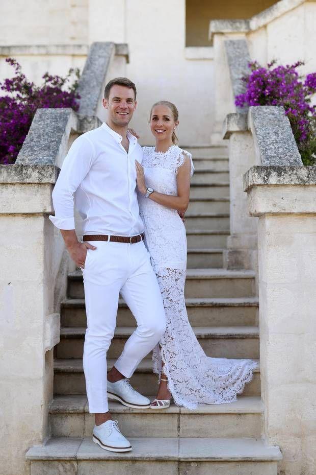 Ja Sie Wollen Stars Und Ihre Hochzeitsbilder Nina Neuer Fussball Freundin Hochzeit Mc