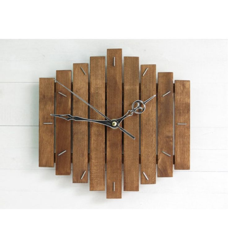 Buy Wooden Wall Clock Romb I