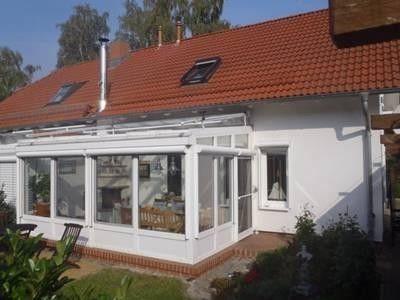 Ferienhaus Watzke auf Usedom: 3 Schlafzimmer, für bis zu 6 Personen. neu, modern, 700 m zum weißen Sandstrand, Wintergarten, ruhige Lage   FeWo-direkt