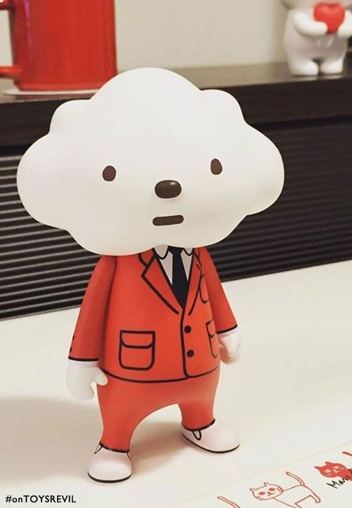 TOYSREVIL: #STGCC exclusive Cloudy Style - Mr Cloud in Red Suit from Fluffy House