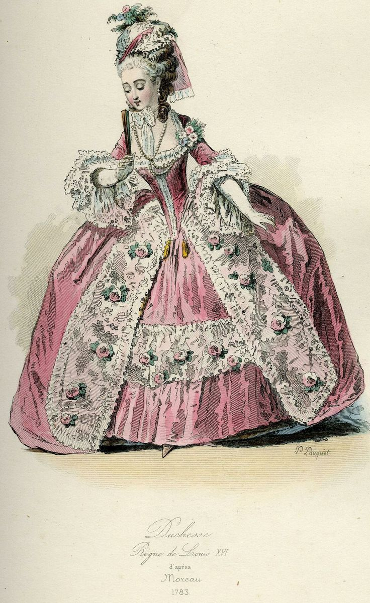 124 best dessin de costumes images on pinterest fashion for French rococo fashion