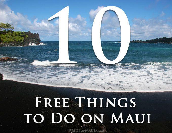 free stuff to do in maui hawaii