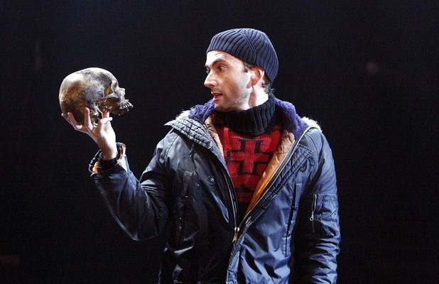 """David Tennant staring as 'Hamlet' on stage in 2008. When Tennant signed up to front Gregory Doran's Royal Shakespeare Company production of Hamlet at the height of his Doctor Who fame, a few sniffy think-pieces emerged, calling it an example of the theatre pandering to celebrity culture by casting a big name (despite Tennant's long history with the RSC). But his razor-sharp, energetic performance spoke for itself, and led The Guardian's Michael Billington to dub him """"the best Hamlet in…"""