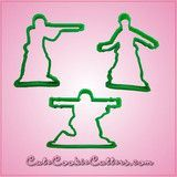 Green Army Men Cookie Cutter Set | Cheap Cookie Cutters is the Cookie Cutter Leader
