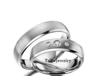 His & Hers Mens Womens Matching 950 Platinum by TallieJewelry, $2850.00