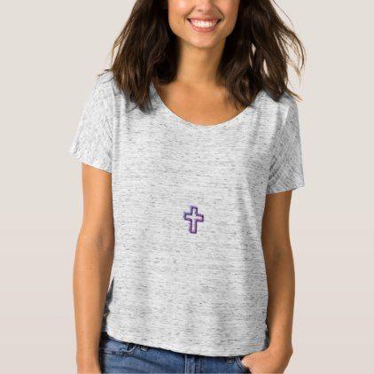 #women - #Christian_1 John 5:11_Sunset-Multi-Colors-Styles T-Shirt