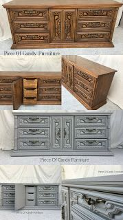 Piece Of Candy Furniture: French Linen Mediterranean Dresser....