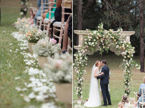 Eirin and Wez's whimsical garden wedding designed by white+white weddings and events. Photography by Bushturkey Studios.