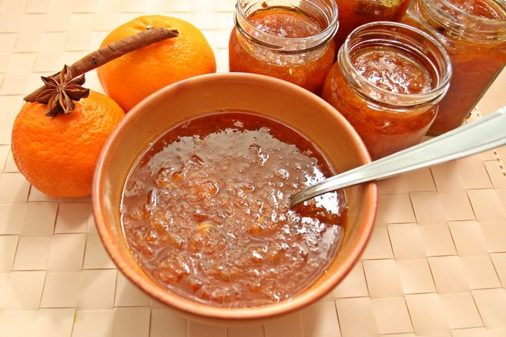 Dulceata de mandarine cu anason si scortisoara