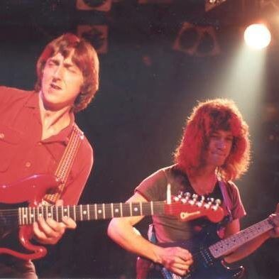 Ed and Allan Holdsworth