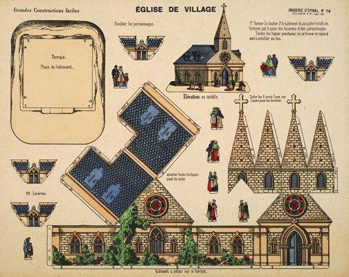 ÉGLISE DE VILLAGE - Castle in the Air Online Shoppe