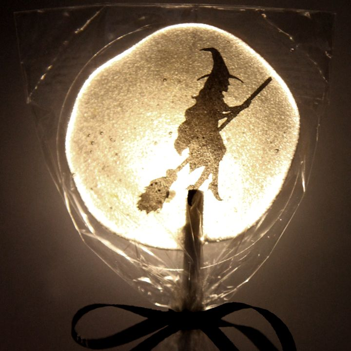 WICKED WITCH LEMON HONEY LOLLIPOPS made with   1 cup sugar  2 Tablespoons water  1/3 cup light yellow honey  2 Teaspoons pure lemon extract/oil: Diy Ideas, Halloween Witches, Witch Lollipop, Diy Halloween, Diy'S, Halloween Ideas, Halloween Diy
