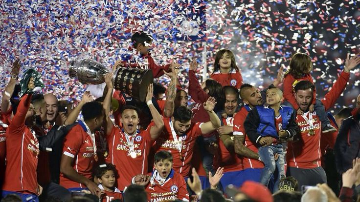 chile the besttt los campeones de america  #copaamerica # chile