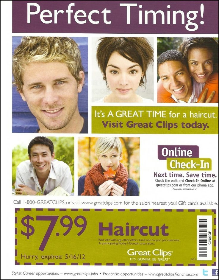 Haircut Coupons Utah