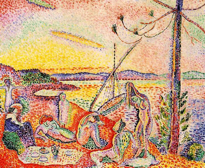 "Henri Matisse - Luxe, Calme et Volupté (1904). (""Luxury, Calm and Pleasure"")"