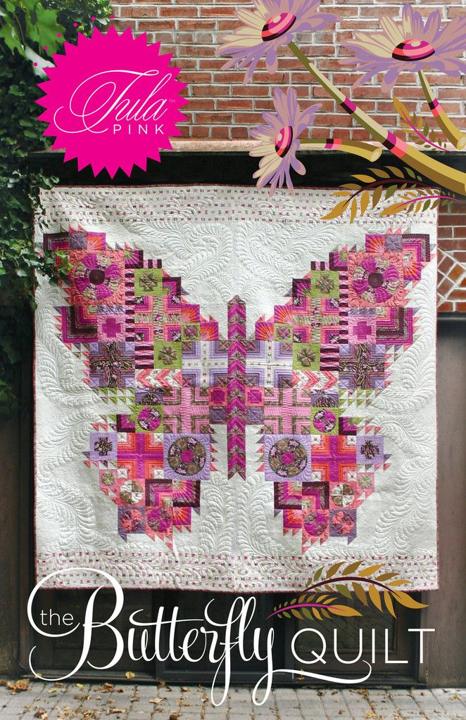 Tula Pink Sewing Pattern - Butterfly Quilt
