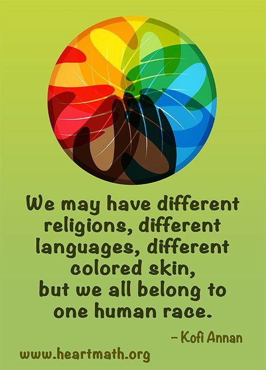 We are all woven together like a beautiful tapestry