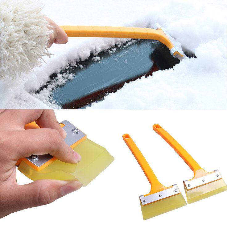 Vehículo Car Snowbrush Eliminación SnoBroom Invierno Cepillo Pala de Nieve Raspador de Hielo Del Coche Styling Mayorista