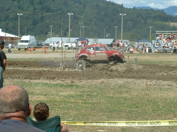 It can get a bit muddy sometimes!
