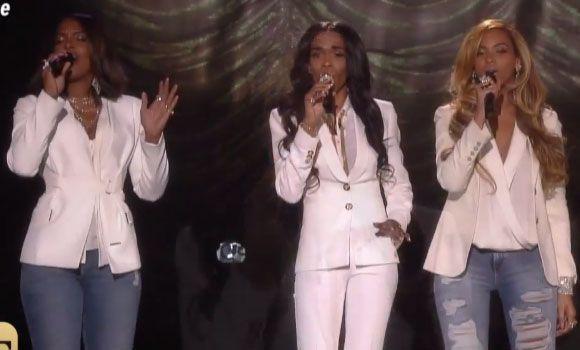 Le groupe Destiny's Child à nouveau réuni sur scène