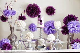 Eles dão um charme a mais e nos últimos anos tem sido a sensação de diversas tipos de festas. Para inspirar, selecionei 37 ideias para decorar com pompom de papel de seda.