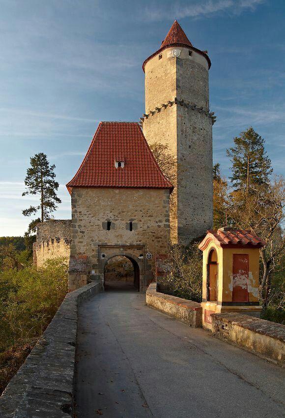 Zvikov gothic castle (South Bohemia), Czechia