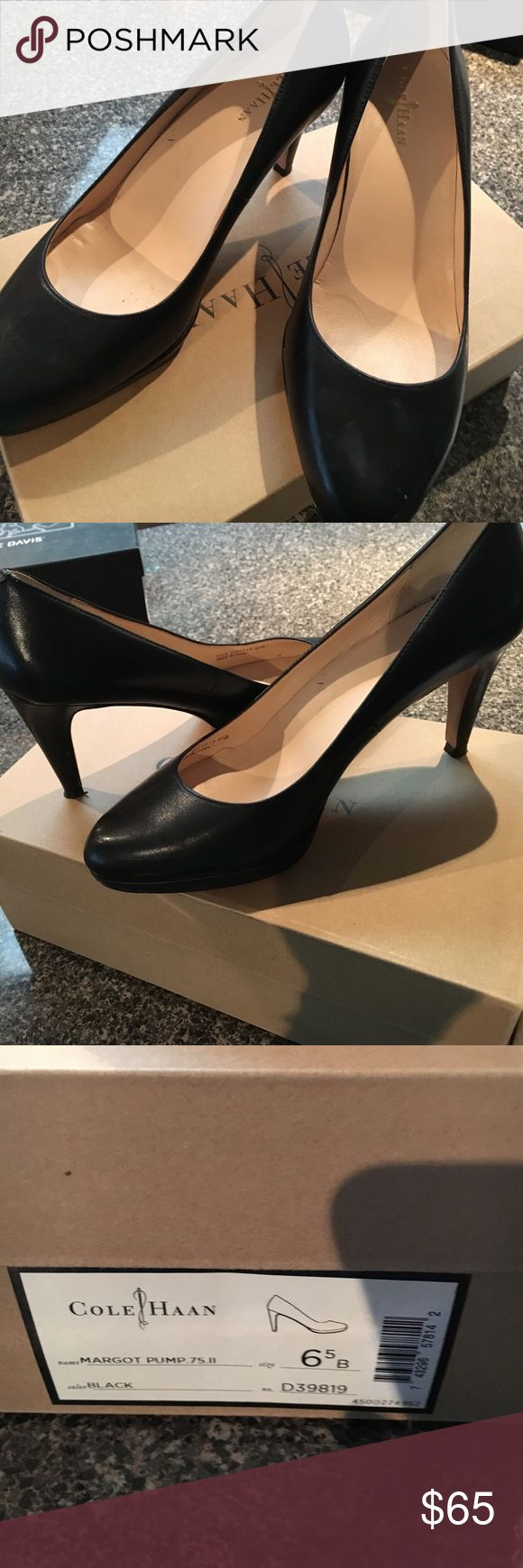 Cole Haan Margit Pumps 7 Cole Haan Margot Pumps. Size 7. Comes with box. Worn one for 2 hours. Purchased at the Cole Haan Outlet. Cole Haan Shoes Heels
