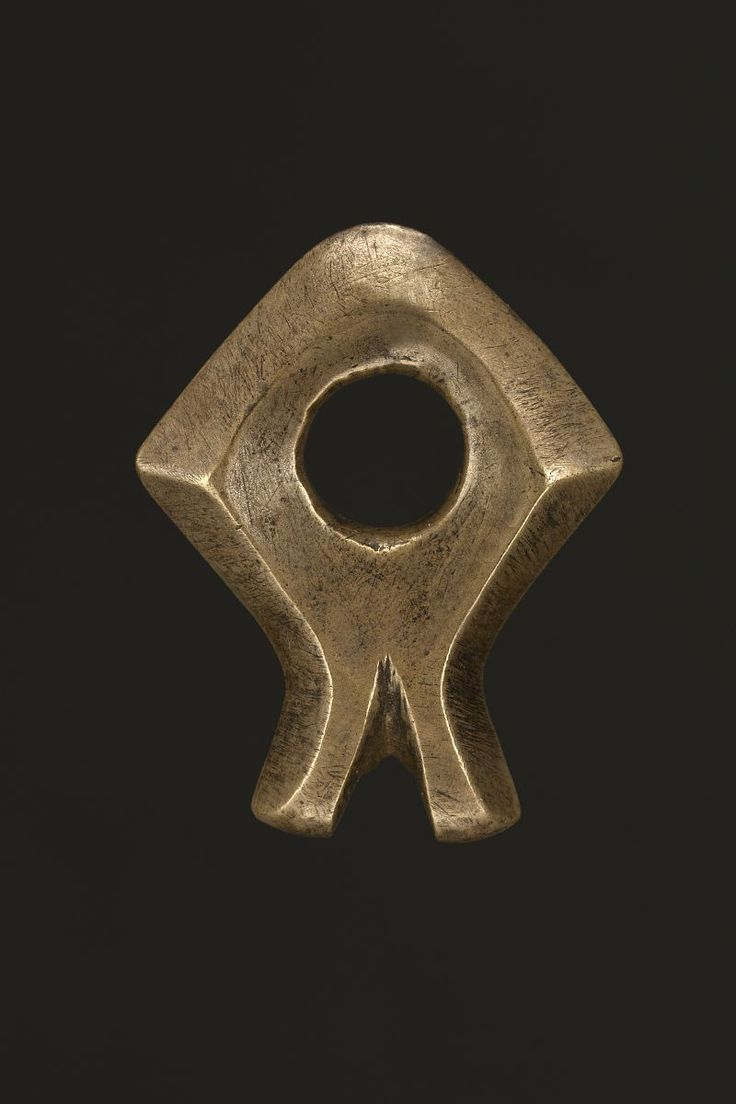 Royal Bridal Bit in Mamuli Form 11559 Sumba Bronze