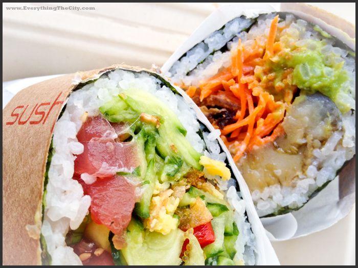 Sushi + Burrito = Sushirrito!