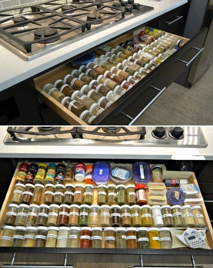 kitchen island organization | Digital image of Small Kitchen Organization Ideas Pics close up view