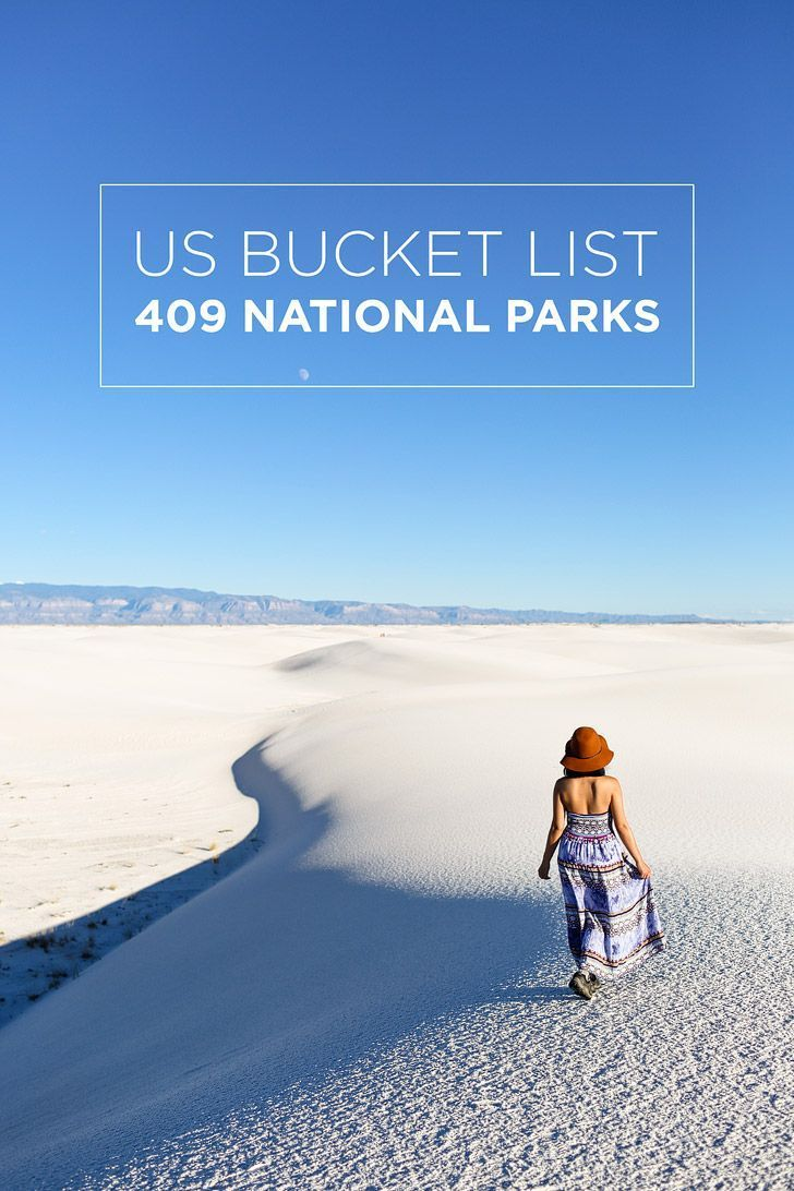 US BUCKET LIST: 400+ National Parks Units in the US // localadventurer.com