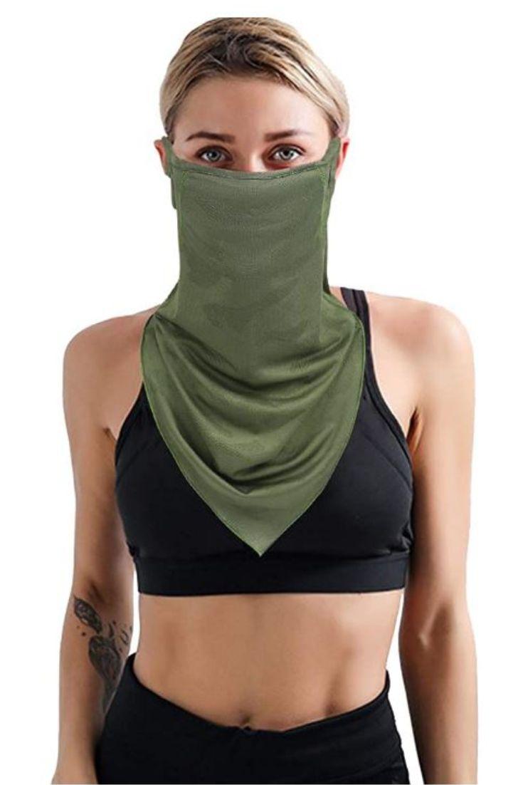 Reusable Bandana Balaclava Women Neck Gaiter for Motorcycle Cycling Fishing Bike Face Mask for Men